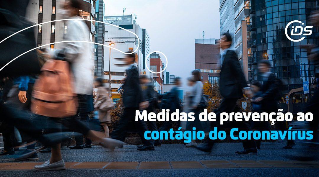 IDS adota medidas de prevenção ao contágio pelo Coronavirus (COVID-19)